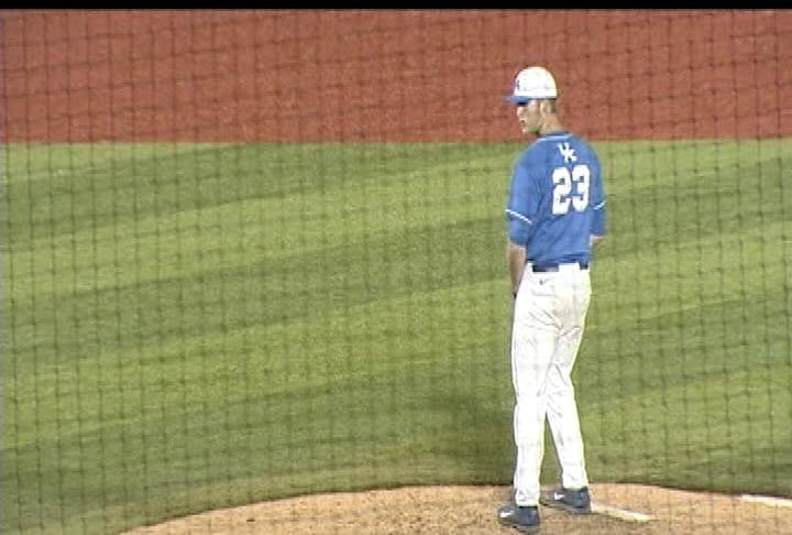 Kentucky sophomore pitcher Kyle Cody