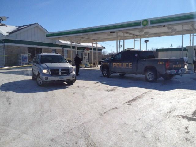 BP gas station in West Branch, Iowa