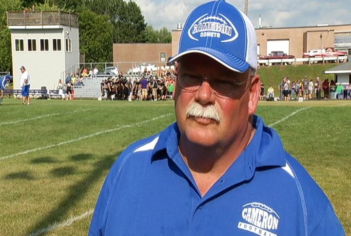 Cameron head coach Bob Bowerman