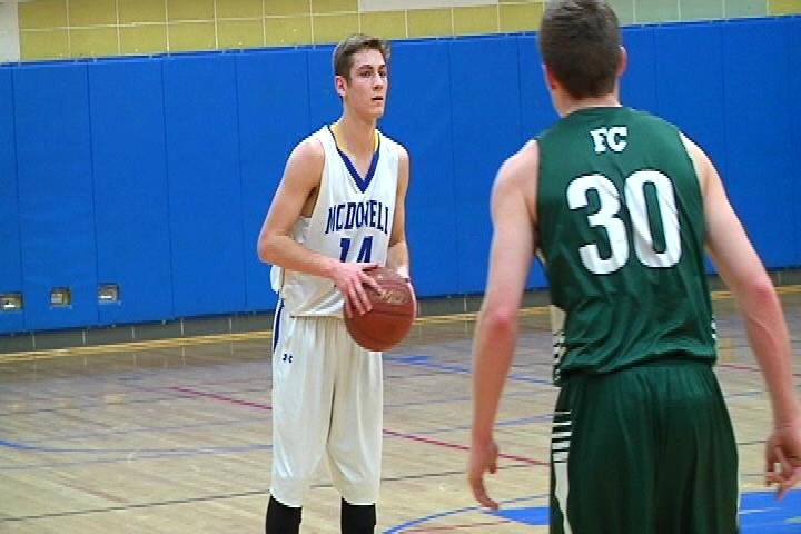 Fall Creek edges McDonell Central