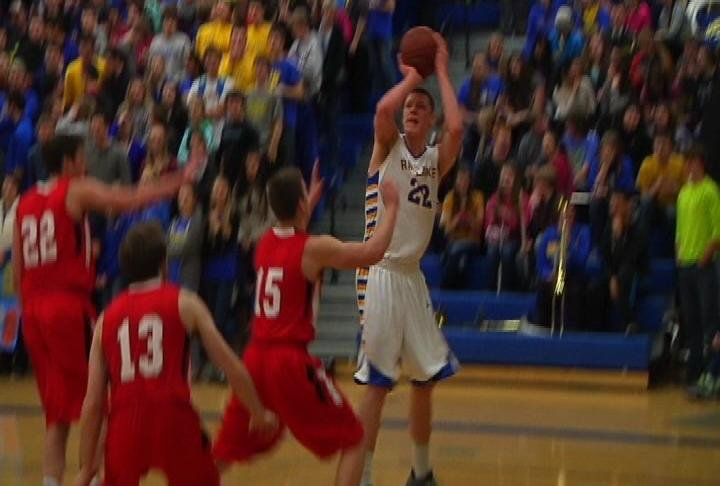 Chippewa Falls holds Henry Ellenson to 12 points but the Cardinals can't win at Rice Lake
