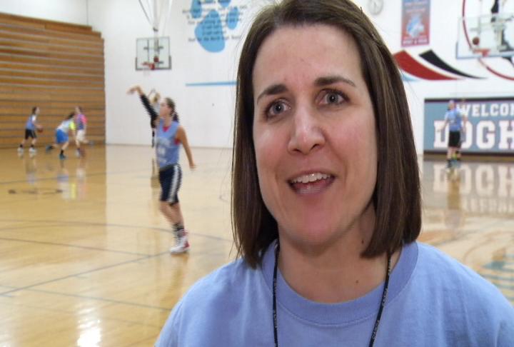 ECN coach Michelle Peplinski