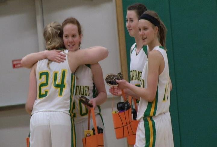 Immanuel Lutheran gets a home win on Senior Night