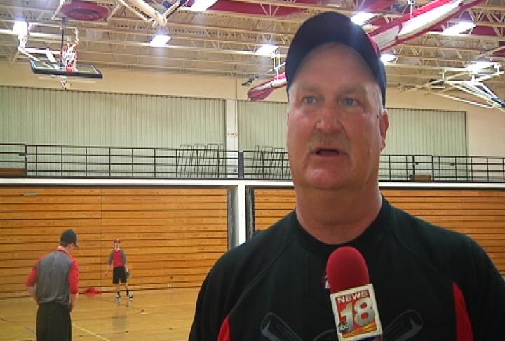 Altoona head coach Jay Johnson