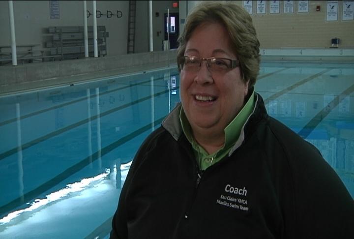 EC Marlins YMCA swim coach Paula Caucutt