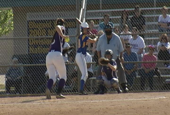 Rice Lake sweeps EC Memorial at Gelein Field