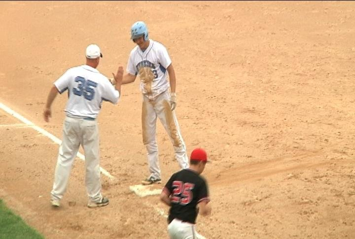 Lucas Lanners' triple helps North beat LC Central