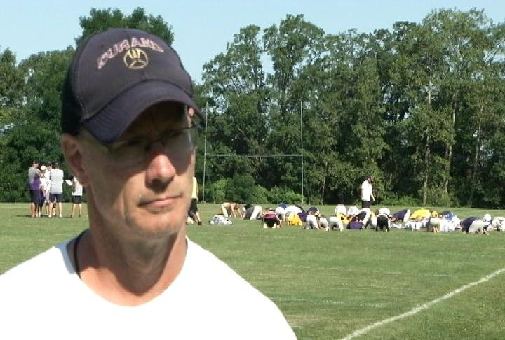 Durand head coach Rod Rosemeyer