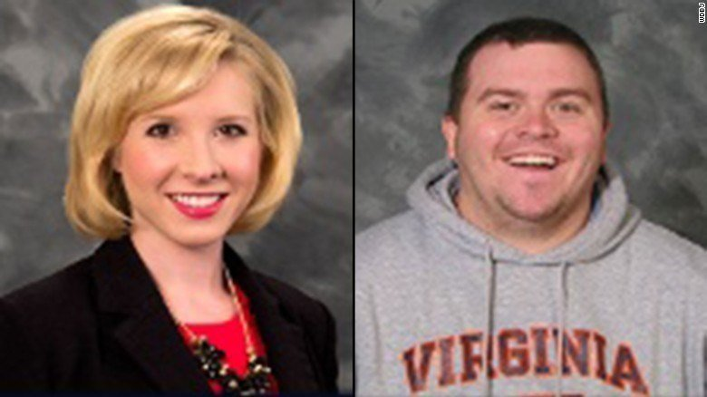 TV Reporter Alison Parker and Photographer Adam Ward, shot to death on live TV Wednesday