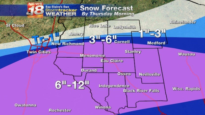 Winter Storm In Progress Governor Declares State of Emergency – Wisconsin Travel Conditions Map