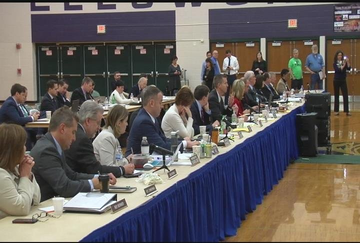 School funding takes center stage at JFC budget hearing in Ellsworth
