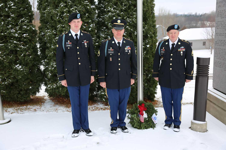 U S Veterans Honored At Wreath Laying Ceremonies Around