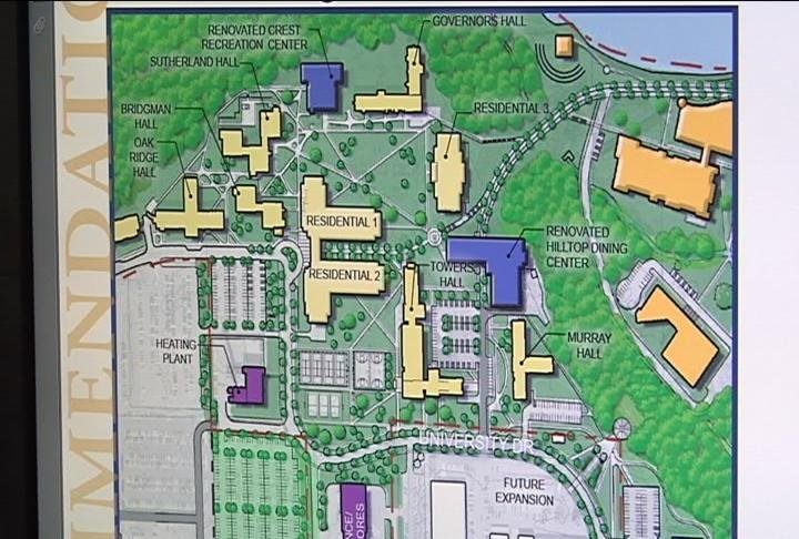 New dorms could be part of uwec 39 s building future wqow for Story about future plans