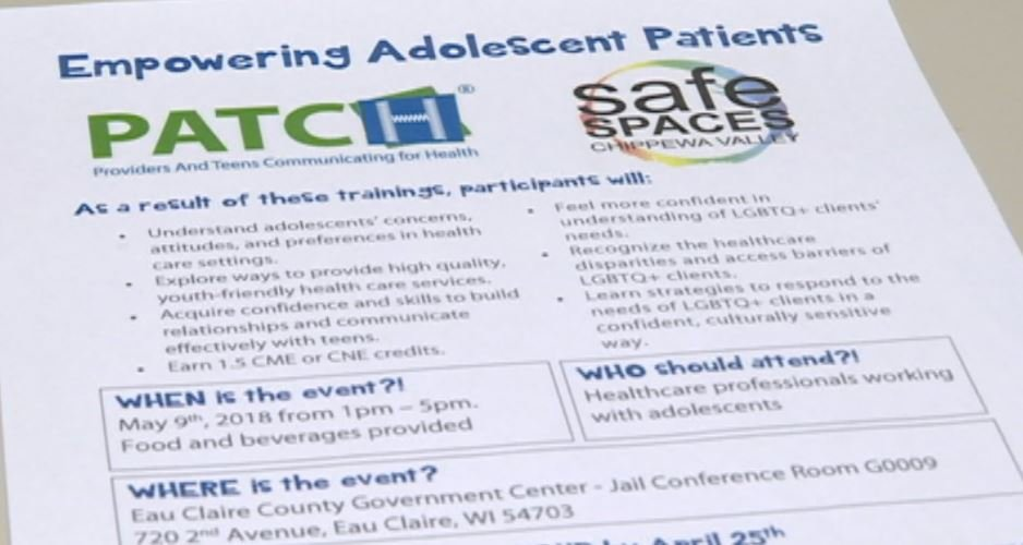 Eau Claire Health Dept. to offer training for treating LGBT teens