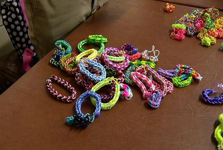 Students sell handmade items to honor former student who for Handmade things videos
