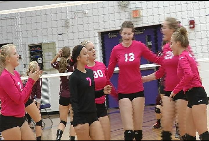 The Old Abes sweep the Mustangs