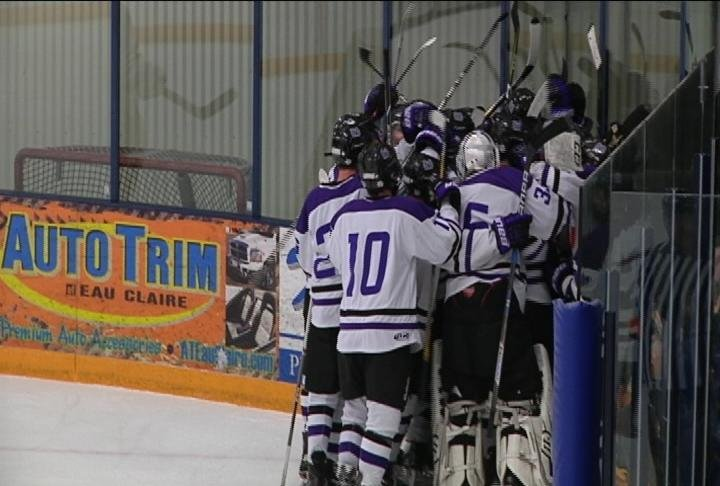 Brenden Olson scores the game winner in overtime, as Memorial stays unbeaten