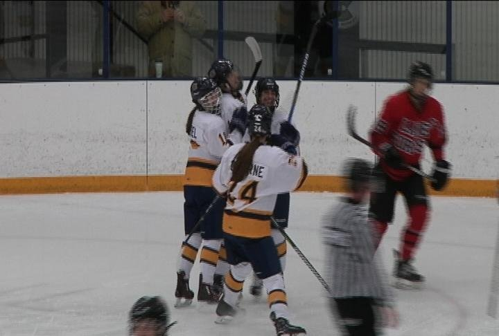 The Blugolds beat Lake Forest in overtime
